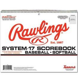 Rawlings RAWLINGS PRO MODEL SCOREBOOK 17SB