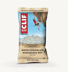 Clif Clif, Energy bar, White Chocolate Macadamia Nut , each
