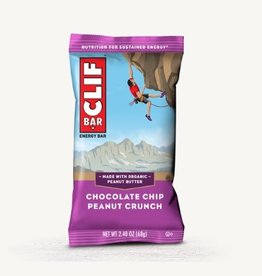 Clif Clif, Energy bar, Chocolate Chip Peanut Crunch, each