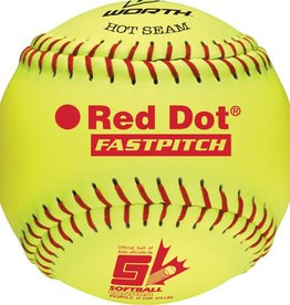 "Worth Softball Red dot 11"" PX11RYLC"