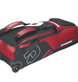 DeMarini DEMARINI MOMENTUM WHEELED BAG - SCARLET