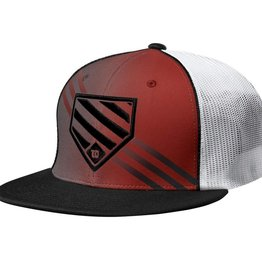Wilson WILSON HOME PLATE FLEXFIT HAT RED