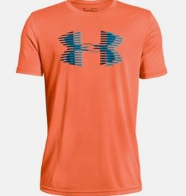 Under Armour UNDER ARMOUR 1331687 BIG LOGO TECH TEE YOUTH