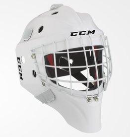 CCM Hockey CCM PRO GOALIE MASK SENIOR LARGE WHITE