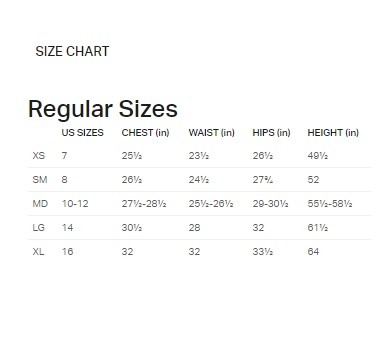 UA Boys Shirt Size Chart