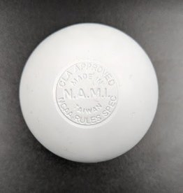 Warrior OFFICIAL LACROSSE BALL WHITE