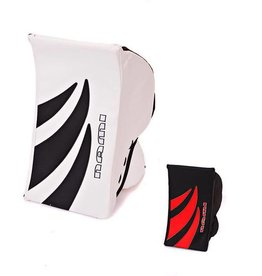 Nami NAMI RINGETTE GOALIE BLOCKER - SENIOR - BLACK/RED
