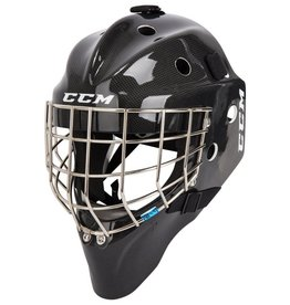 CCM Hockey CCM 1.5 GOALIE MASK JUNIOR BLACK CARBON