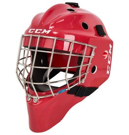CCM Hockey CCM 1.5 GOALIE MASK JUNIOR RED