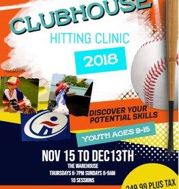Sportwheels Clubhouse Hitting Clinic
