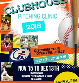 Sportwheels Clubhouse Pitching Clinic