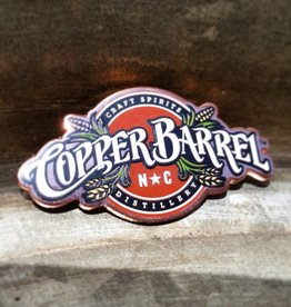 Copper Barrel Lapel Pin - CBD Full