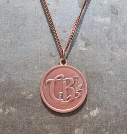 Round Copper Necklace - CBD Emblem