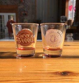 Copper Barrel Provisions Shot Glasses