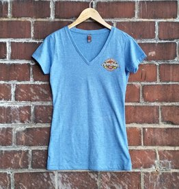 District Women's V-Neck Tee (SS) {E}