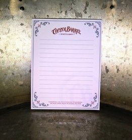 Copper Barrel Disitllery Note Pad