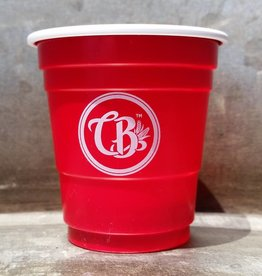 Copper Barrel Provisions Shot Glasses [Red] CB Emblem