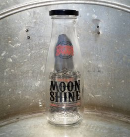 Sinma Empty Moonshine Bottles [2-Color] (375 ml)