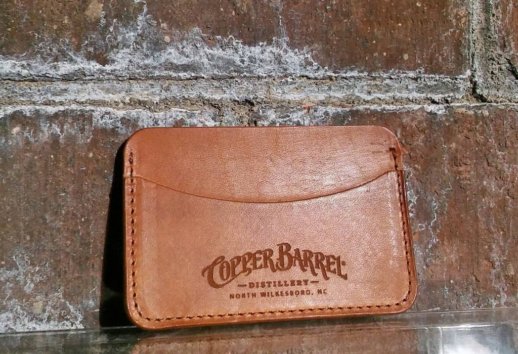Copper Barrel Distillery Copper Barrel Leather Wallets [Brown] {Cardholder}