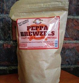 Hops and Nuts Pretzels (Peppa Brewzels)