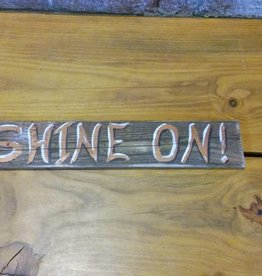 Copper Barrel Distillery Re-claimed Wood Signs {Shine On}