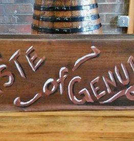 Copper Barrel Distillery Re-claimed Wood Signs  {Taste of Genuine}
