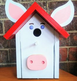 Piggy Bird House [Blue/Red]