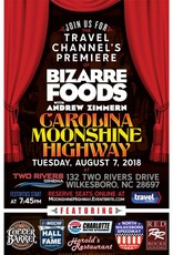 Copper Barrel Distillery Bizarre Foods Premiere Poster [11 x 17]