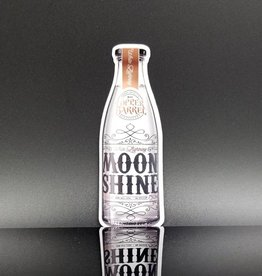 Copper Barrel Distillery Moonshine Sticker [White Lightning]