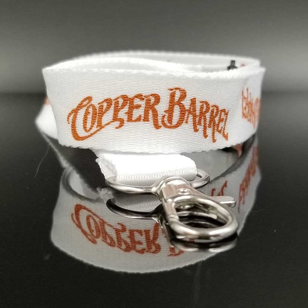 Copper Barrel Lanyard