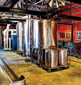 Copper Barrel Distillery Stillhouse Print by Milty Moffett (8 x 10)