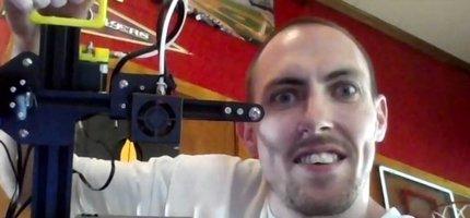 3D Printer Raffle Winner!