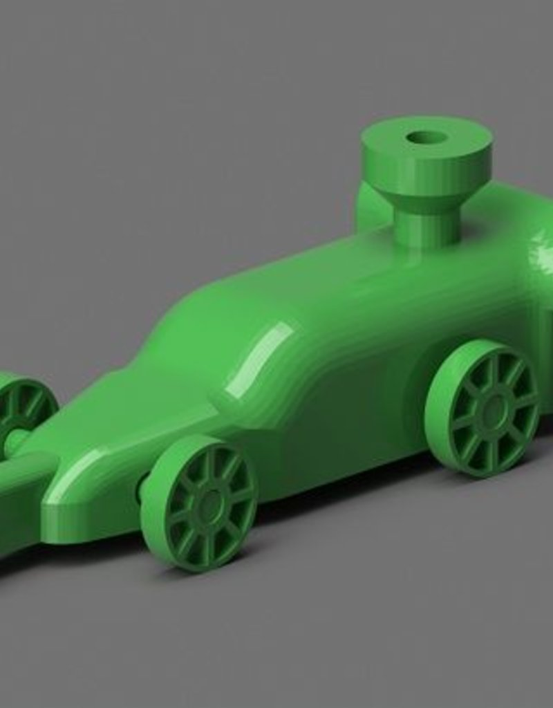 PrintLab Classroom: Force and Motion with a Balloon-Powered Dragster