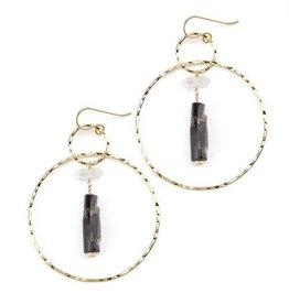 Joy Dravecky Divine Hoop Earrings