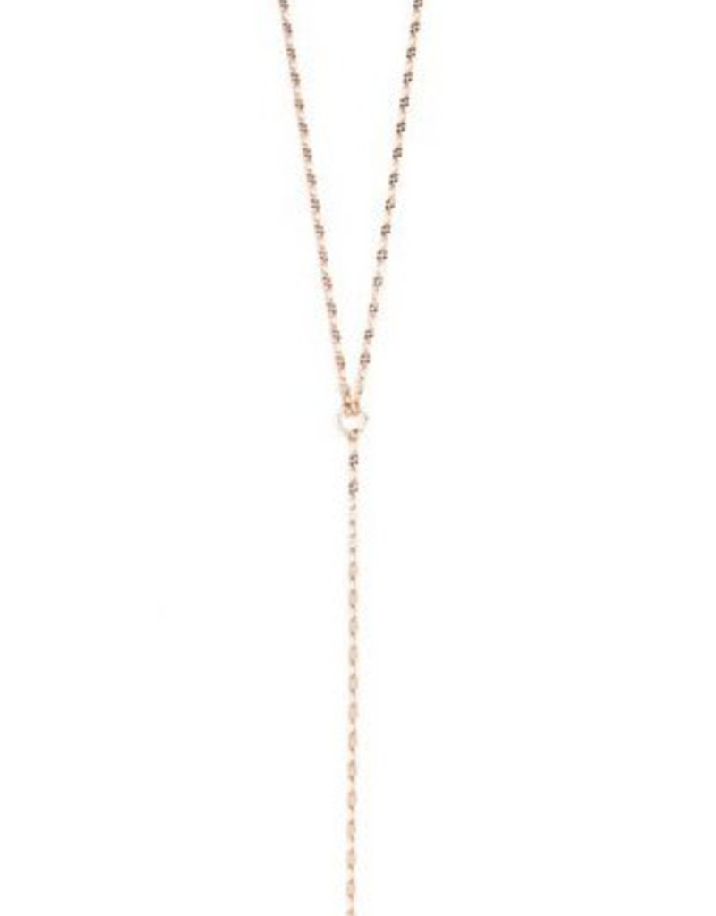 Joy Dravecky Clover Y Necklace