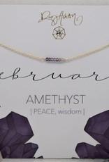 Rory Ashton Birthstone Bar Necklace