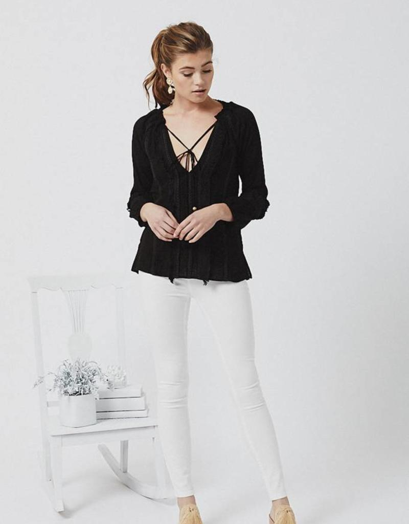 Chloe Oliver Frankie Top - Black