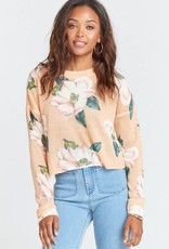 Show Me Your Mumu Cropped Varsity Sweater
