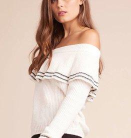 BB Dakota Rush Week Ruffle Sweater