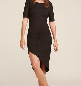 BB Dakota Off Duty Side Drape Dress