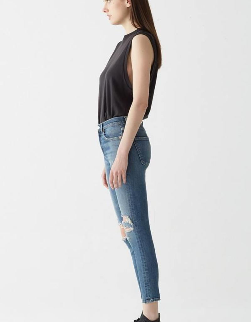 AGOLDE Sophie Highrise Skinny Crop - Spite