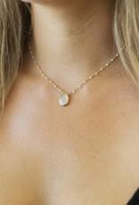 Joy Dravecky Fall Pear Stone Necklace