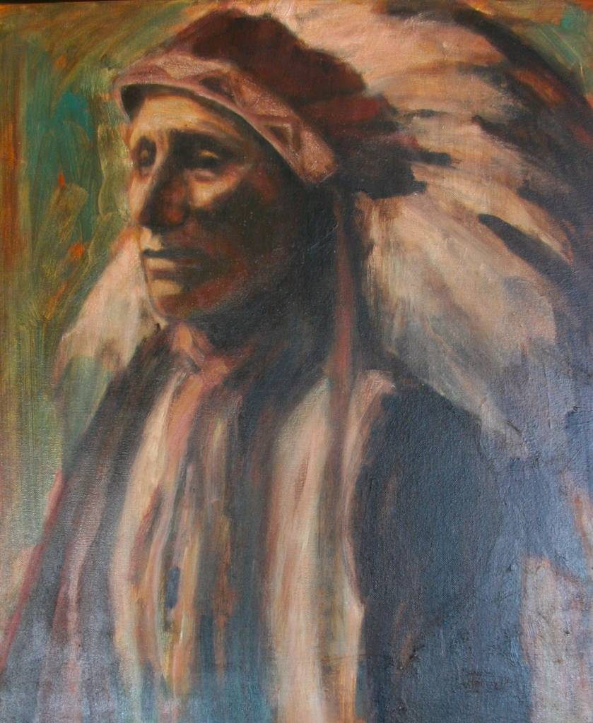 Deborah Harrington Lakota Chief