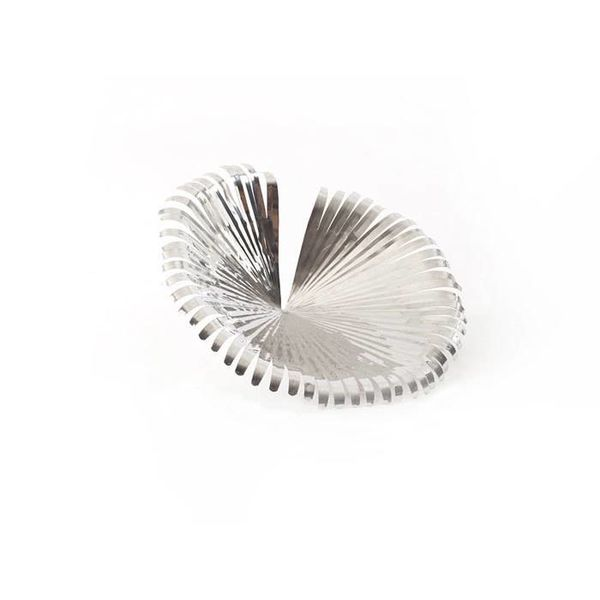 Stainless Steel Anahaw Leaf, LG