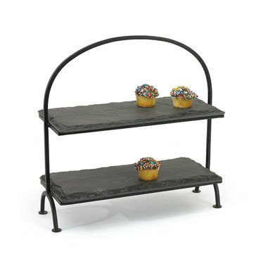 Slate Tiered Stand