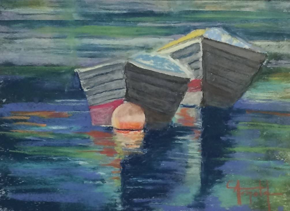 Carol Arnold Boat Study