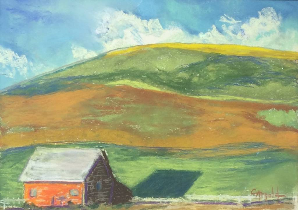 "Carol Arnold ARNOLD ""THE HOUSE ON THE HILL"""