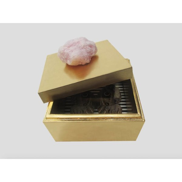 GOLD BUTTERFLY BOX