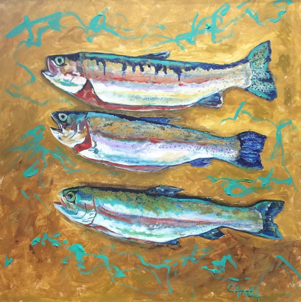 "Carol Arnold ARNOLD ""A DAY'S CATCH"""