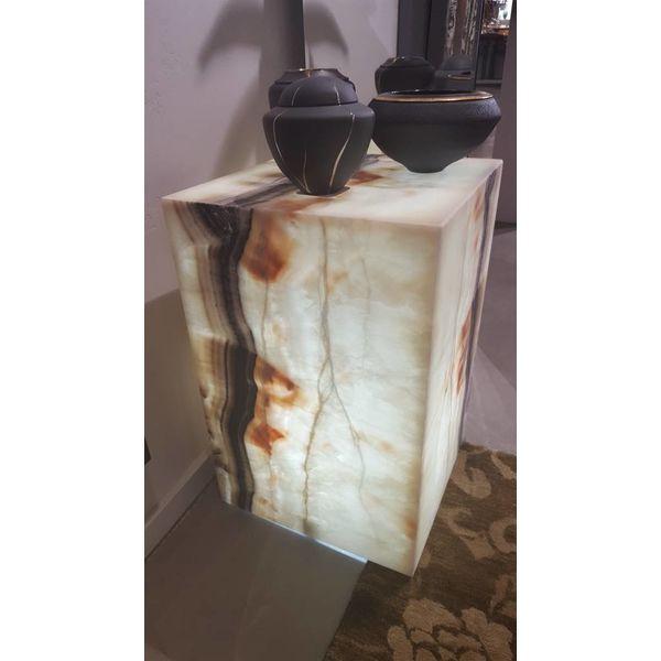 Onyx Cube Pedestal